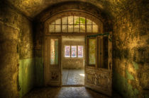 Warm door by Nathan Wright