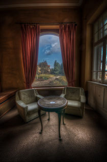 Table with a view by Nathan Wright