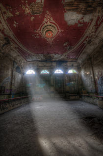 Old red ballroom von Nathan Wright