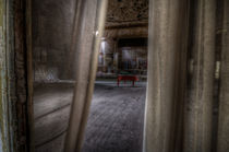 Through the curtain  von Nathan Wright