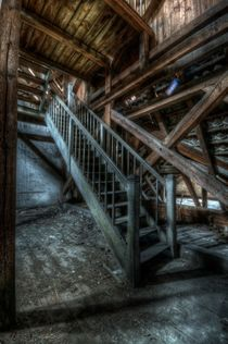 Loft stairs by Nathan Wright