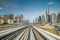 Dubai Metro by Dieter Wundes