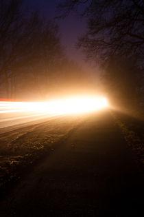 Auto bei Nacht von gilidhor
