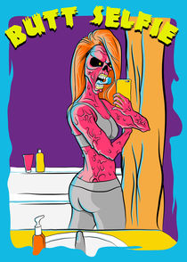 Butt Selfie Zombie by kreasimalam