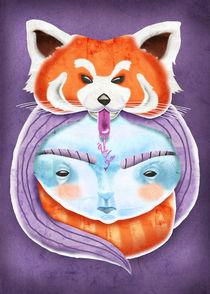 Huriyah & Red Panda von kreasimalam