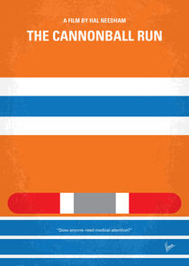 No411-my-the-cannonball-run-minimal-movie-poster