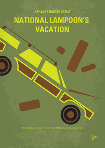 No412 My National Lampoon's Vacation minimal movie poster by chungkong