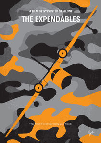 No413 My The expendables minimal movie poster von chungkong