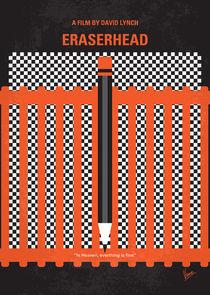 No414 My Eraserhead minimal movie poster by chungkong