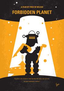 No415-my-forbidden-planet-minimal-movie-poster