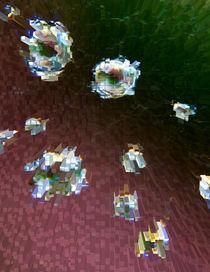 Diamonds on a Web by Dave  Byrne
