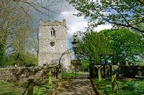 St Leonard's Church, Thorpe, Derbyshire von Rod Johnson