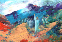 Sermon On The Mount Sinai by Miki de Goodaboom