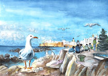 Seagulls In Essaouira by Miki de Goodaboom