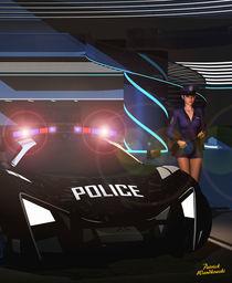 Achtung Polizei by Patrick Wandkowski