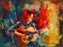 David Bowie Madness von Miki de Goodaboom