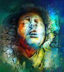 Bob Marley 10 Madness von Miki de Goodaboom
