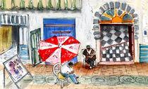 Street Scene In Essaouira von Miki de Goodaboom