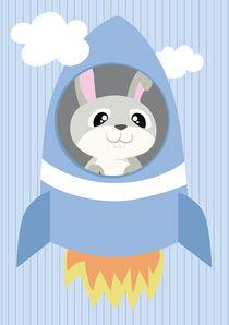 Mobil Serie Rakete Hase von Michaela Heimlich