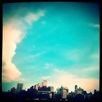 Clouds over N.Y. by Isabella Morrien