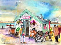 Ice Cream Shop in Ireland von Miki de Goodaboom