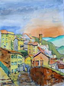 Dorf in den Abruzzen by Gerhard Stolpa