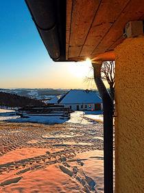 Sonnenschein am Bauernhof | Landschaftsfotografie von Patrick Jobst