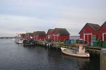 Fischerhütten von Ute Bauduin