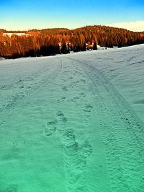 Winterwanderung an der Grenze | Landschaftsfotografie by Patrick Jobst