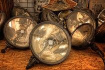 Scheinwerfer - Oldtimer von Petra Voß