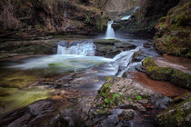 Waterfall country, South Wales von Leighton Collins