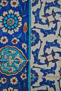 Kacheln Blaue Moschee von loewenherz-artwork