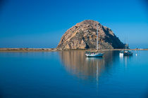 Morro Rock, California by Engeline Tan