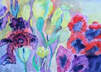Blumen, frei nach Nolde von Gerhard Stolpa