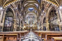 Montserrat Abbey (Catalonia) von Marc Garrido Clotet