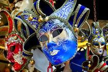 Venezianische Maske 2 von Kurt Gruhlke