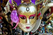Venezianische Maske von Kurt Gruhlke
