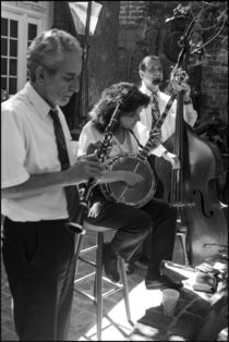 New Orleans Restaurant Three-Piece Band von Michael Whitaker