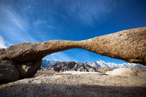 Natural Arch, Alabama Hills. by David Hare