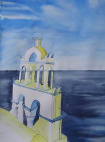 Oia- Santorini, Kirche von Gerhard Stolpa