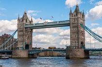 London Tower Bridge VI von elbvue by elbvue