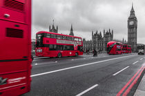 London Westminster Bus III von elbvue by elbvue