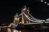 London Tower Bridge IX von elbvue von elbvue