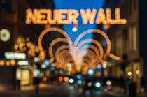 Hamburg Neuer Wall Weihnachten I von elbvue by elbvue