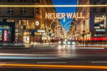 Hamburg Neuer Wall Weihnachten II von elbvue by elbvue