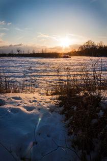 Sonnenschein auf dem Schnee by gilidhor
