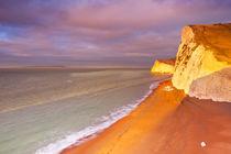 Sunrise on the south coast of England von Sara Winter