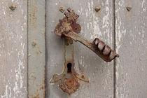 Alter Drachentürdrücker, old dragon door handle by Sabine Radtke