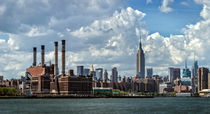 New York Skyline by Cesar Palomino