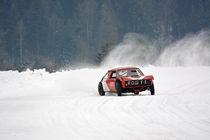 VW Polo 4x4 beim Eisrennen - Ice Race von Mark Gassner